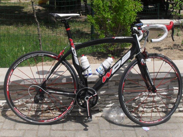 La bicicletta tricolore di D'Ascenzo è una delle prime perle del marchio WDB Wladimiro D'Ascenzo Bike
