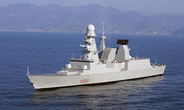 Giulianovanews marina militare nave duilio 2 for Andrea doria nave da guerra