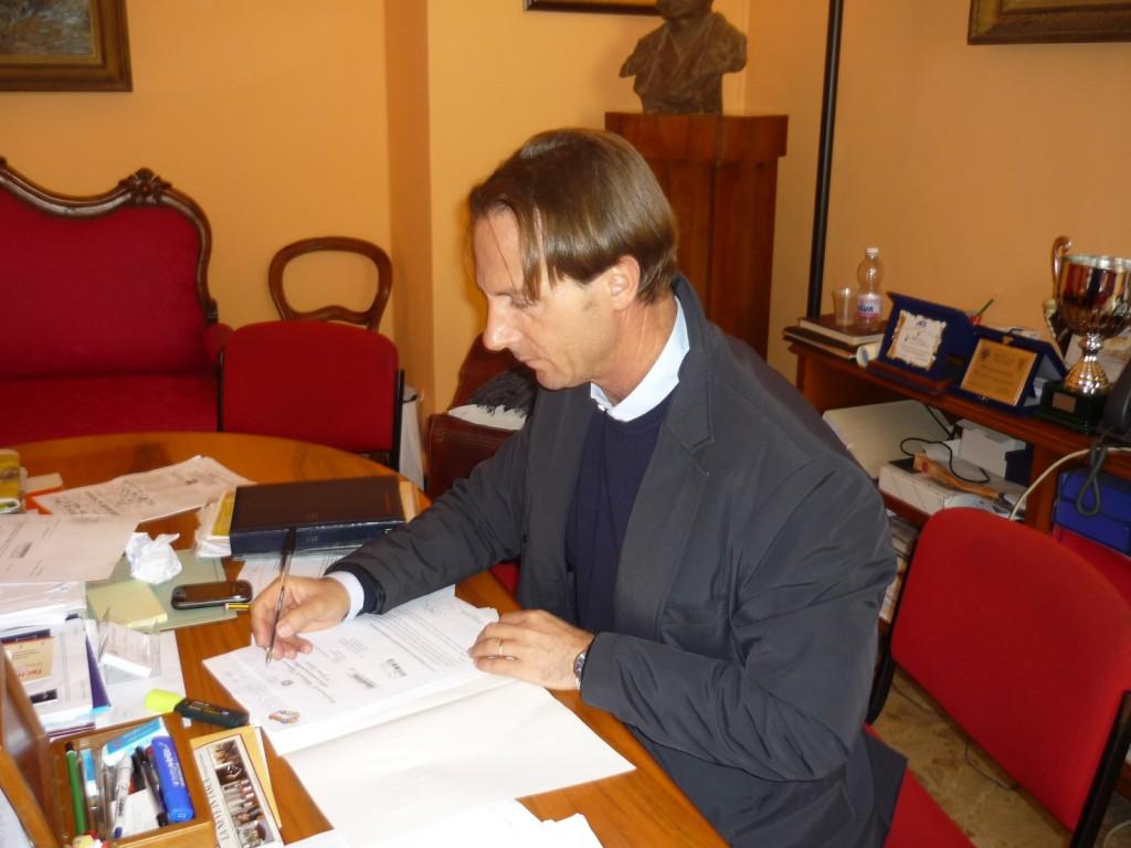 Il Sindaco, Avv. Francesco Mastromauro