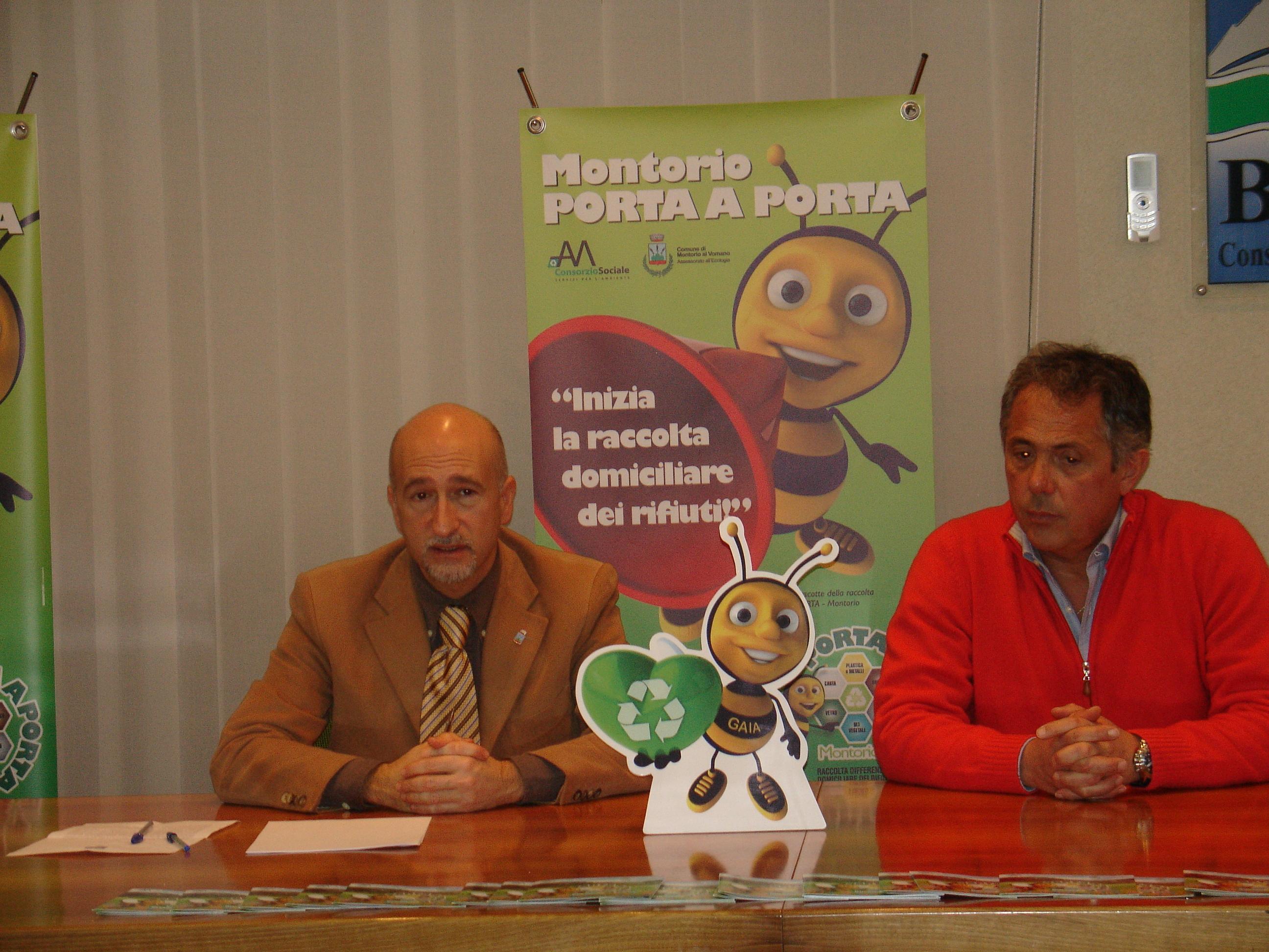"""Montorio al Vomano: parte il servizio di raccolta rifiuti  """"porta a porta"""""""