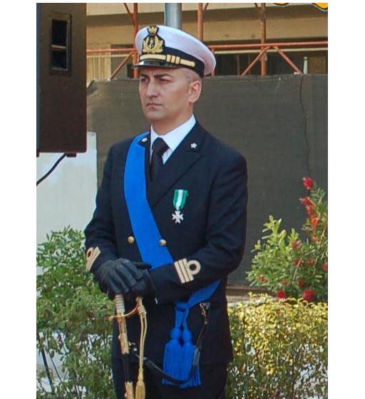 T.V. (CP) Sandro PEZZUTO, Comandante dell'Ufficio Circondariale Marittimo di Giulianova