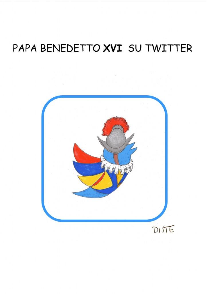 Papa Benedetto XVI su Twitter
