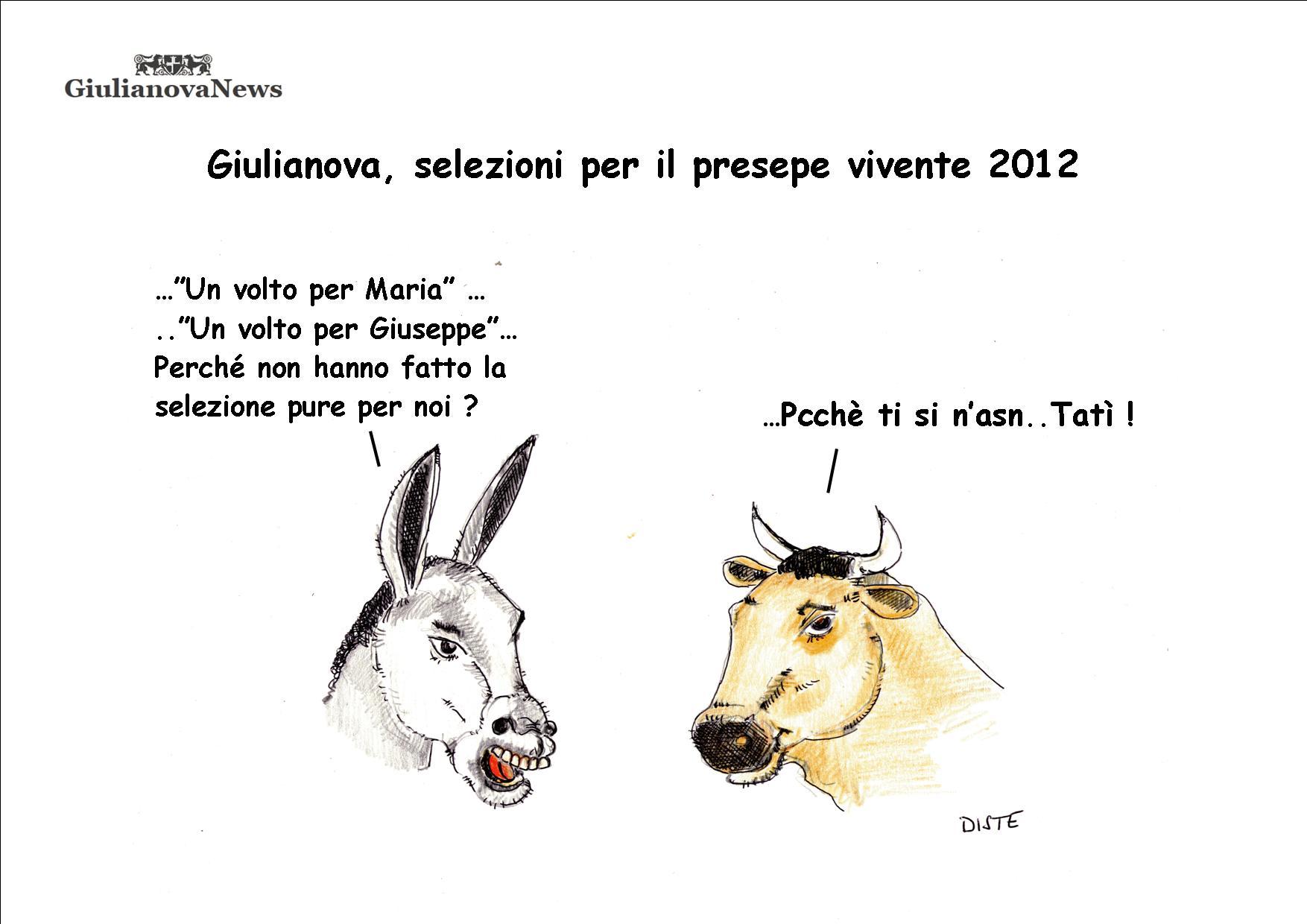 Giulianova selezioni per il presepe vivente 2012