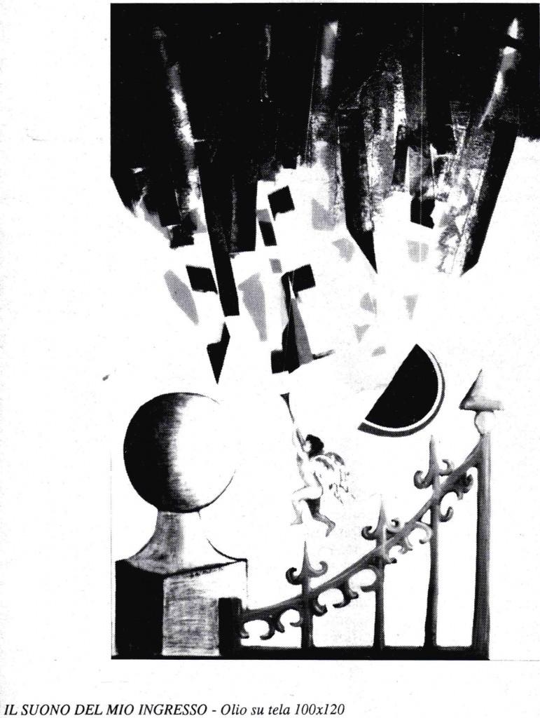 Opera di Gabriele Di Pietro, esposta nel 1990 a Giulianova