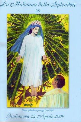 Copertina di Mirta Maranca per la Madonna dello Splendore n° 28