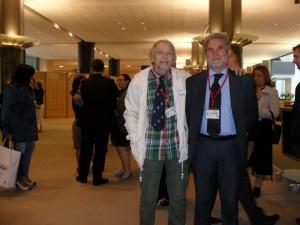 Luciano Mastracci e Goffredo Palmerini al Parlamento europeo, a Bruxelles