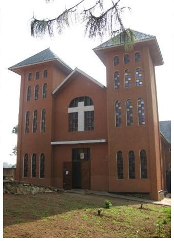 Fronte Chiesa Sanit Benoit - Butembo1
