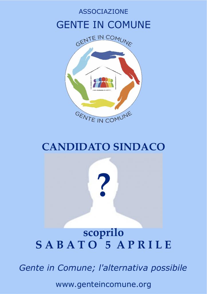 candidato sindaco-