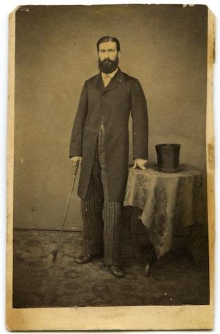 Tobia De Nigris, sindaco di Canzano dal 1879 al 1885 e dal 1887 al 1907