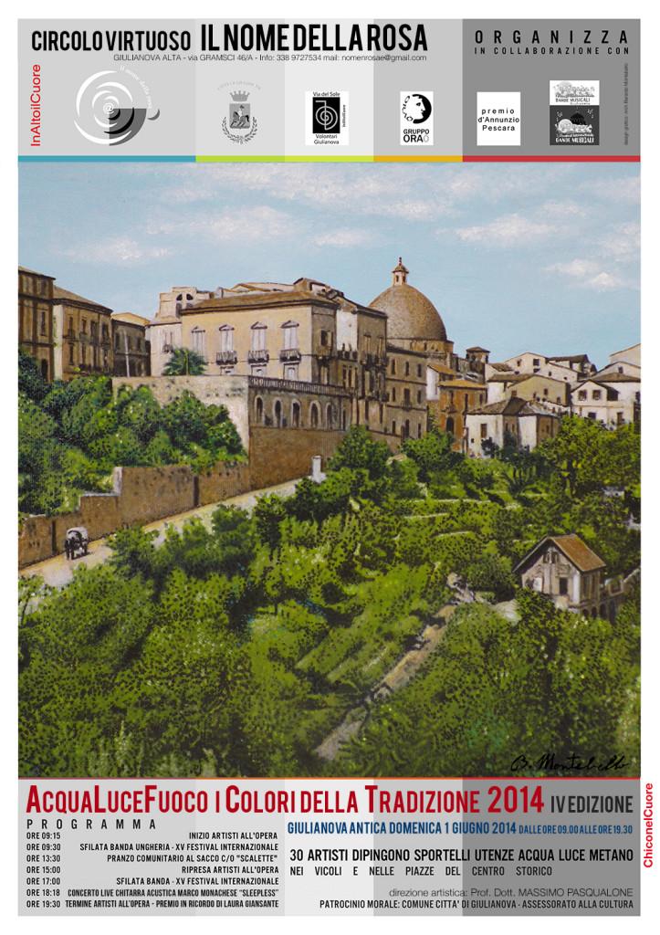 Locandina AcquaLuceFuoco IV Edizione 01.06.2014
