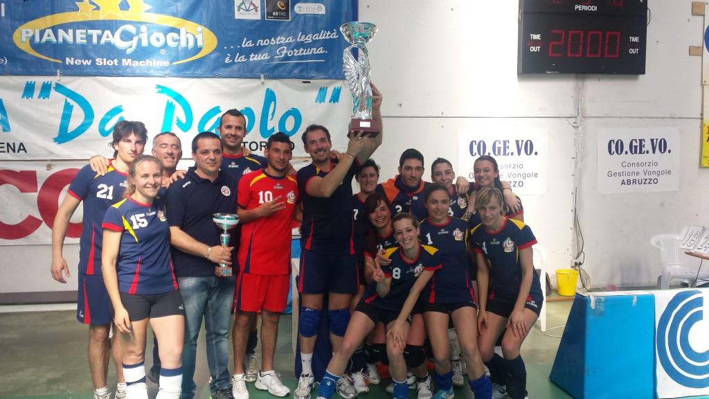 Olimpia Mosciano Campione Provinciale Pallavolo Mista