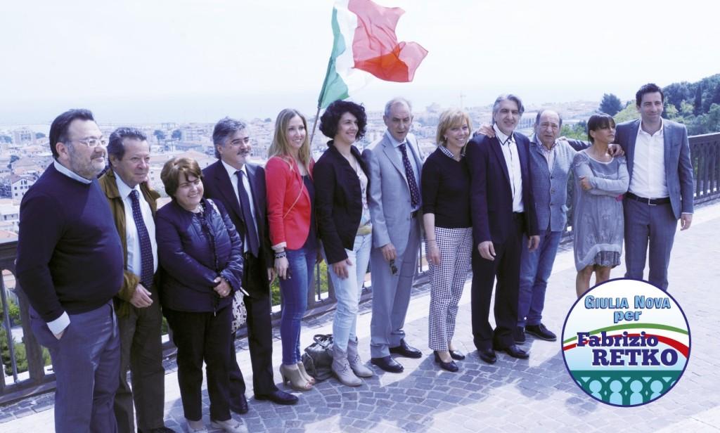 Giulia Nova presentazione LISTA - foto gruppo