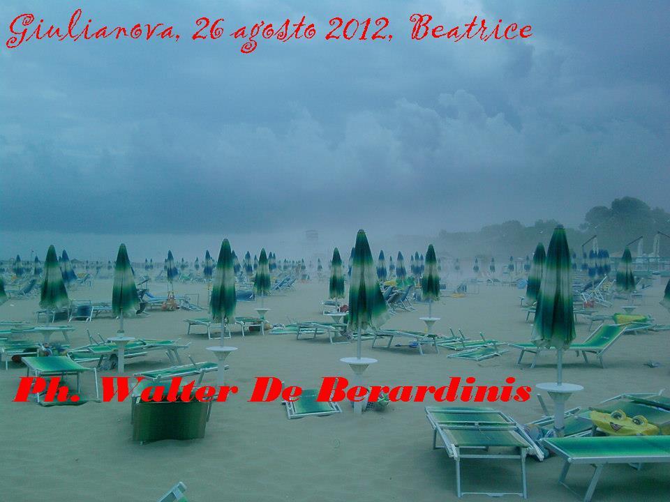 Foto Archivio fiulianovanews.it - Beatrice a Giulianova il 26 agosto 2012
