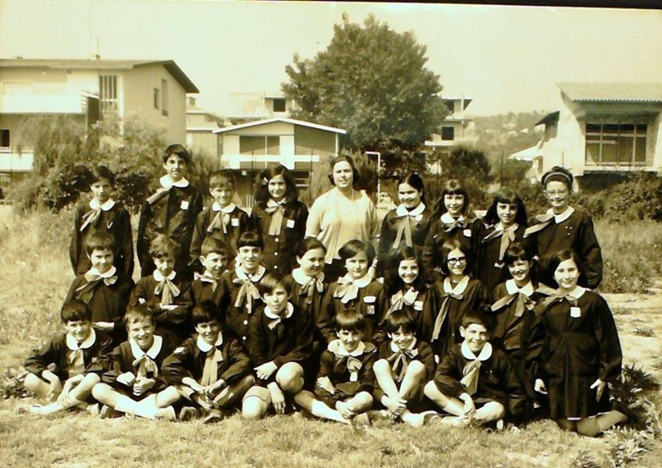 classe V anno scolastico 1969 - 1970 Ospizio Marino