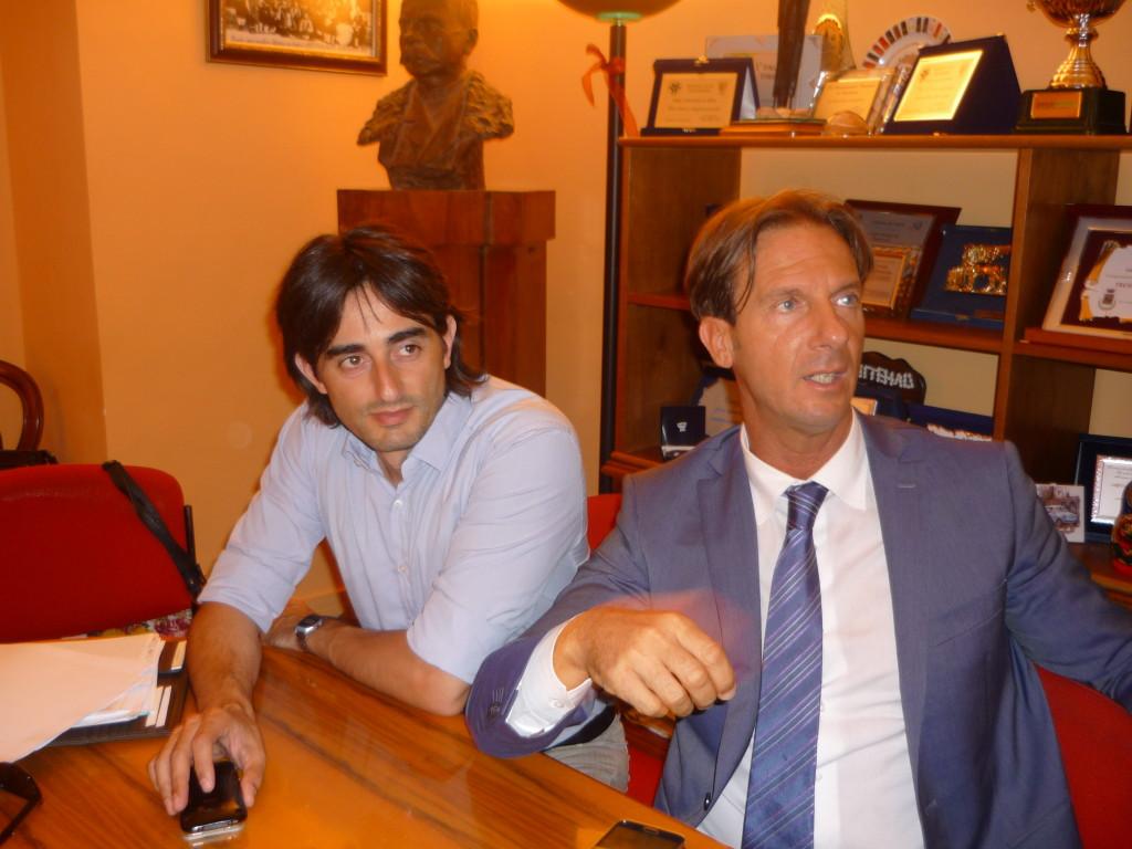 Fabio Ruffini e Francesco Mastromauro