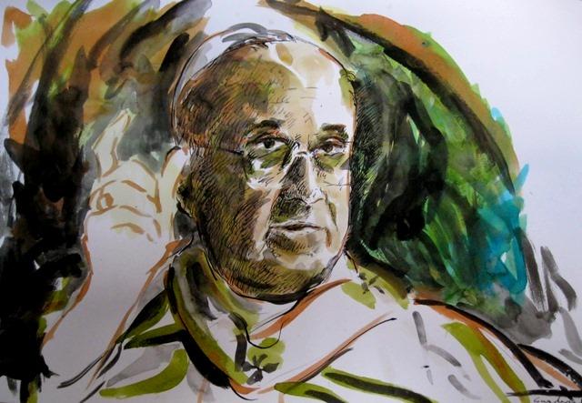 - Francesco Guadagnuolo - Primo ritratto di Papa Francesco - 19-03-2013