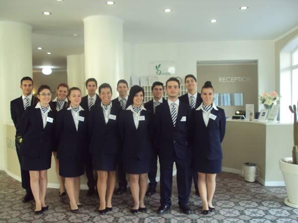 La classe IIIG di Accoglienza Turistica: futuri receptionist e promotori del territorio
