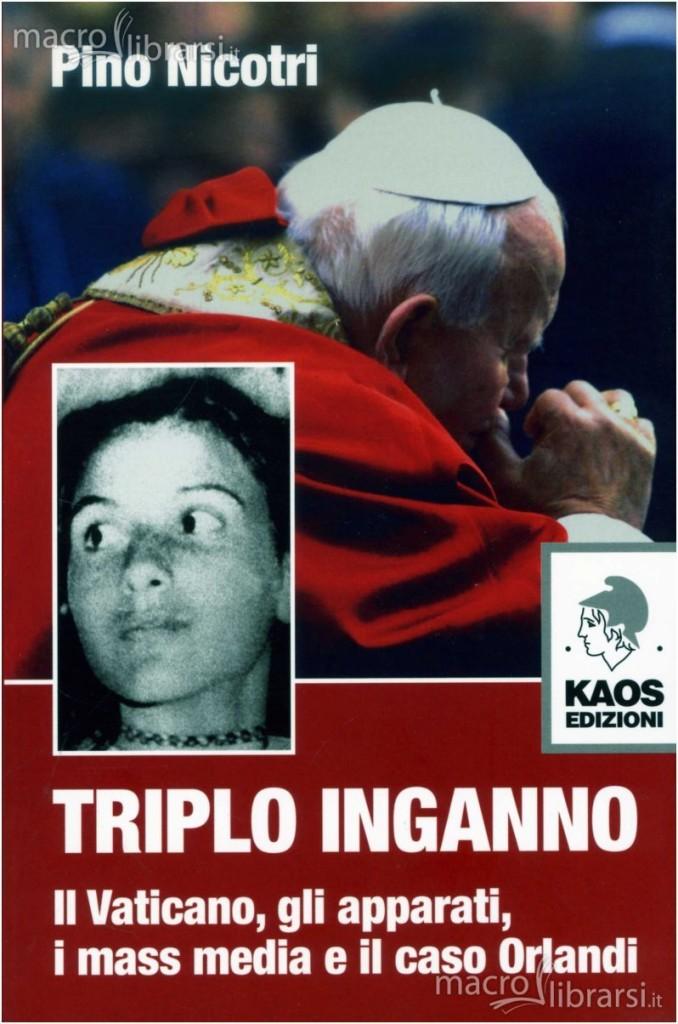 Copertina Triplo inganno di Pino Nicotri