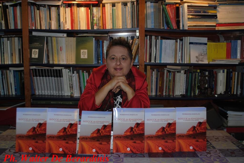 Rossanna Angiolini. Foto Walter De Berardinis