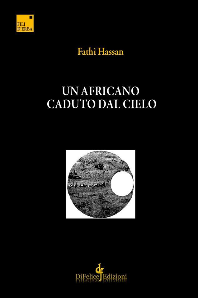 copertina libro Un africano caduto dal cielo, Fathi Hassan