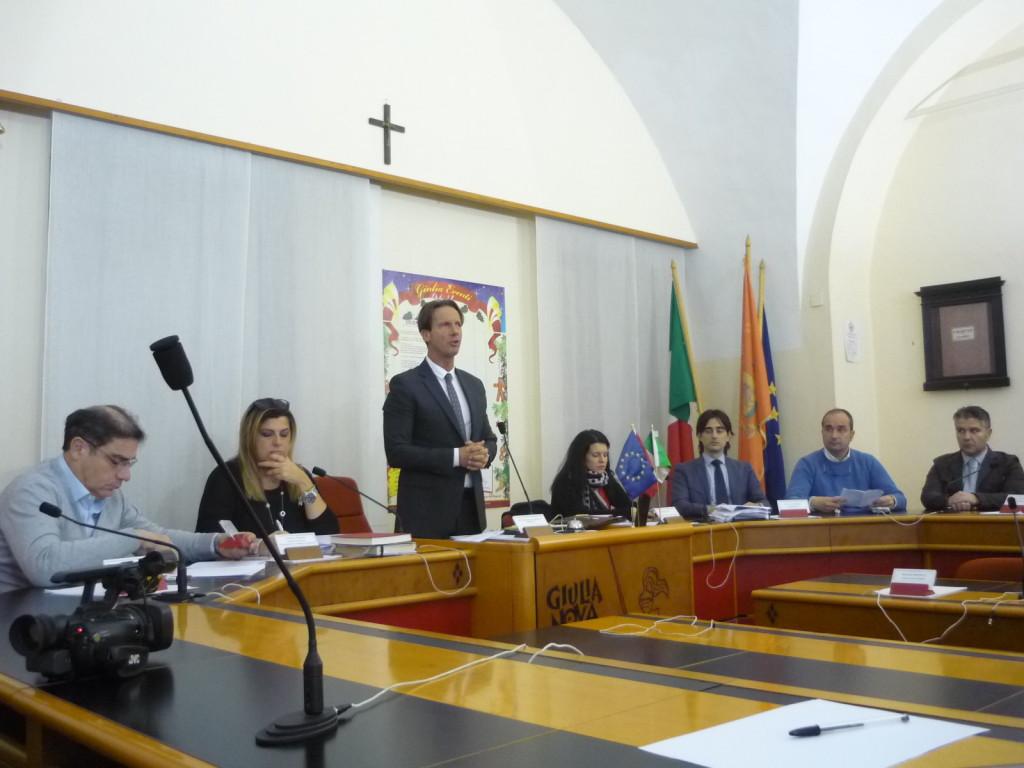 Giunta Comunale Sindaco Francesco Mastromauro