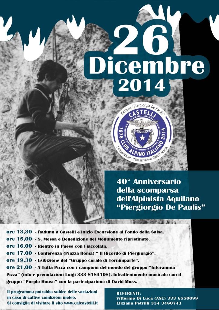 Programma del 26 Dicembre - CASTELLI (TE)
