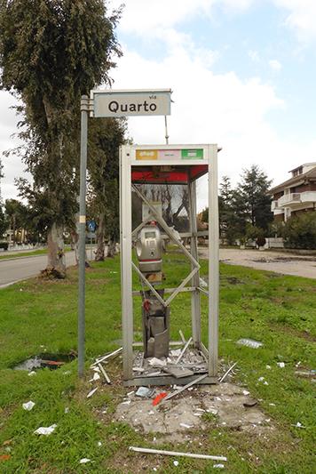 Giulianova, Via Quarto, Cabina rotta.