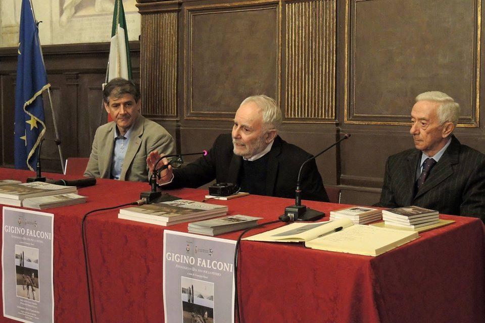 Giuseppe Bacci, Gigino Falconi, Armando Traini