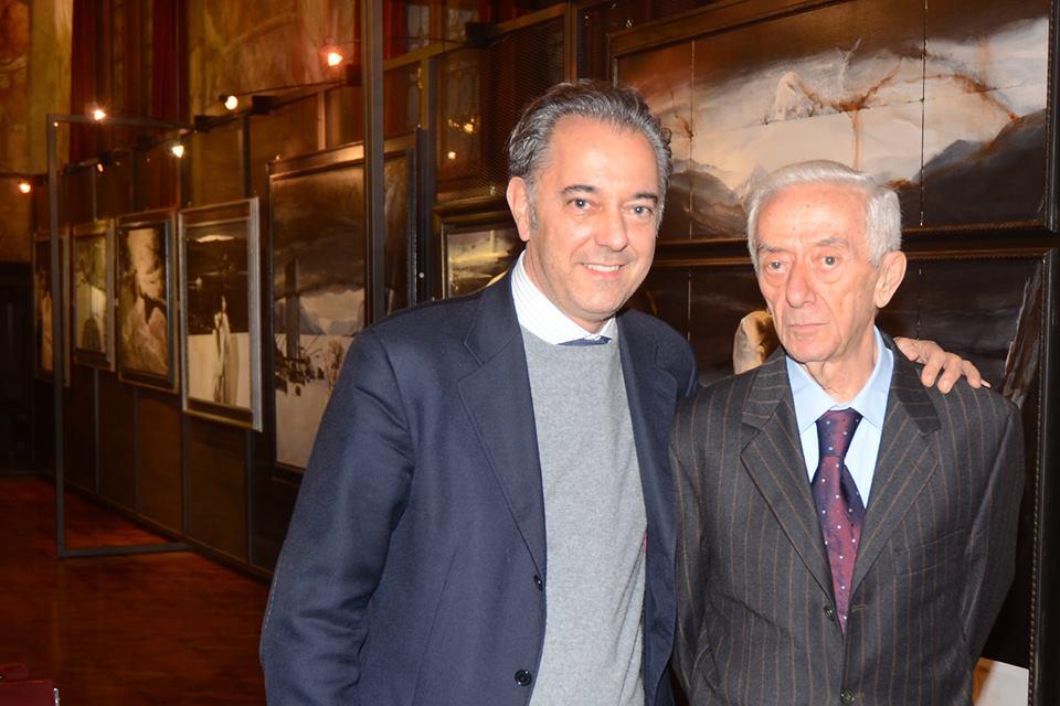 sen. Maurizio Saia  e  Armando Traini