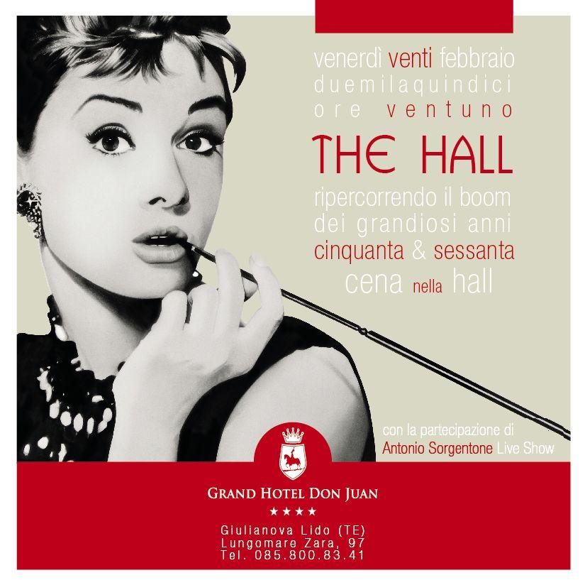 Giulianova. The Hall, ripercorrendo il boom dei grandiosi anni 50′ e 60′.