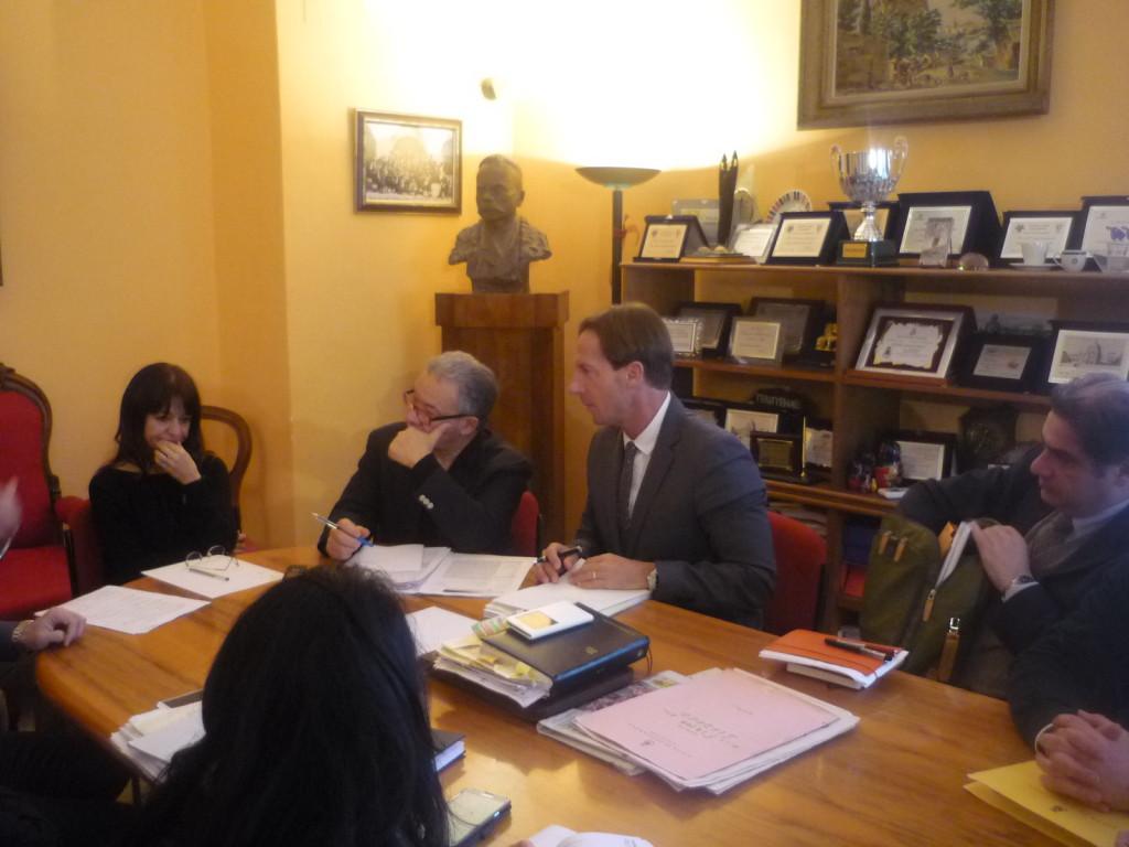Giulianova, riunione debito Parco Franchi