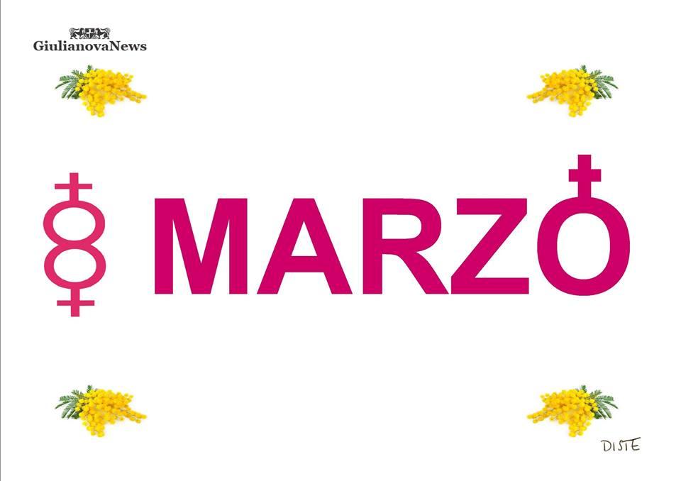 """Giulianova. L'8 marzo visto dalla matita graffiante del """"nostro"""" DISTE. Auguri alle nostre lettrici."""