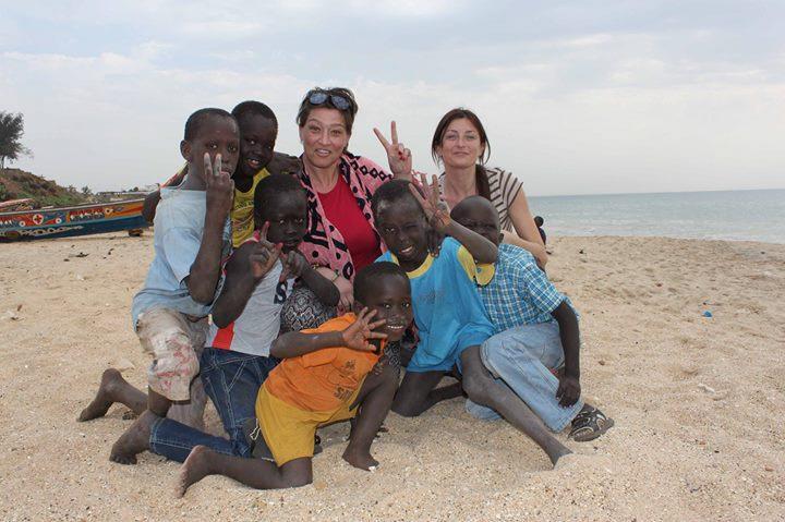 Ambra Di Pietro in Africa