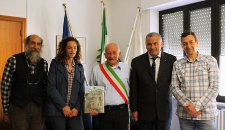 Sergio Paolo Sciullo della Rocca, con la giunta di Lucoli e Del Zoppo