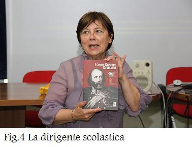 Fig.4 La Dirigente Scolastica