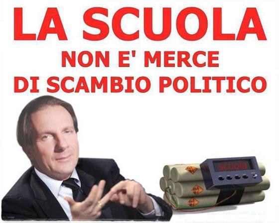 Caricatura del Sindaco da parte del M5S Giulianova