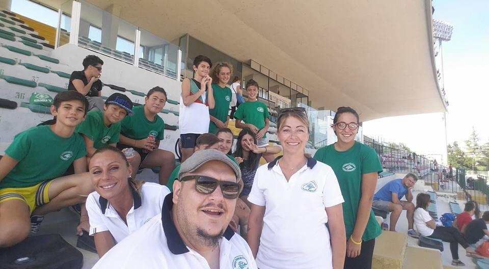 atleti e tecnici dell'Ecologica G