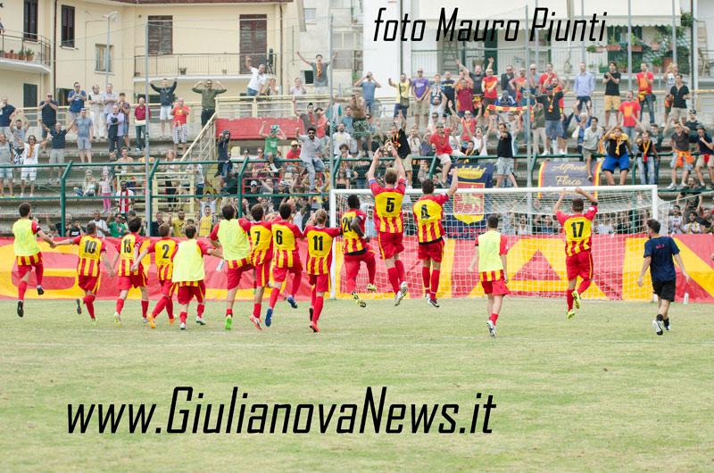 Giulianova. Giulianova-Matelica 2-1, foto di Mauro Piunti