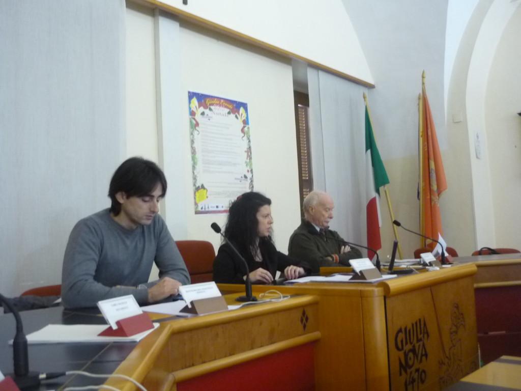 conferenza stampa Giulia Eventi Natale 2015