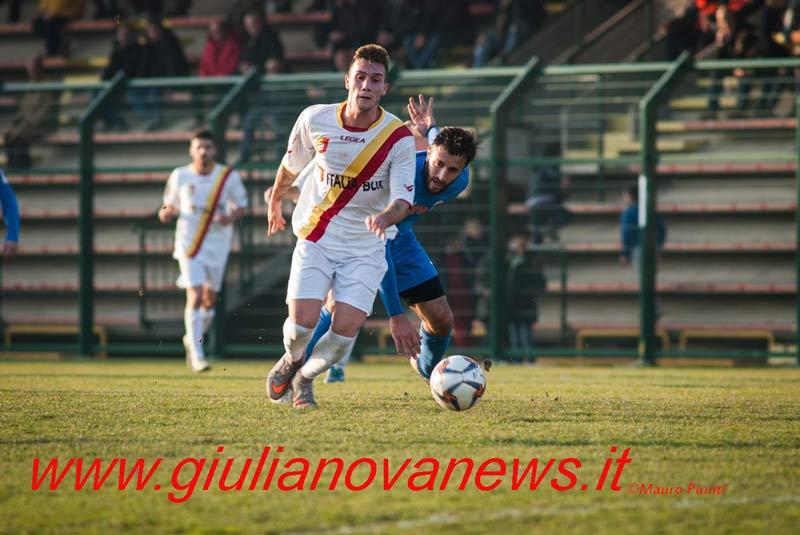 Giulianova. Calcio: Giulianova-Monticelli 3-0. Foto di Mauro Piunti