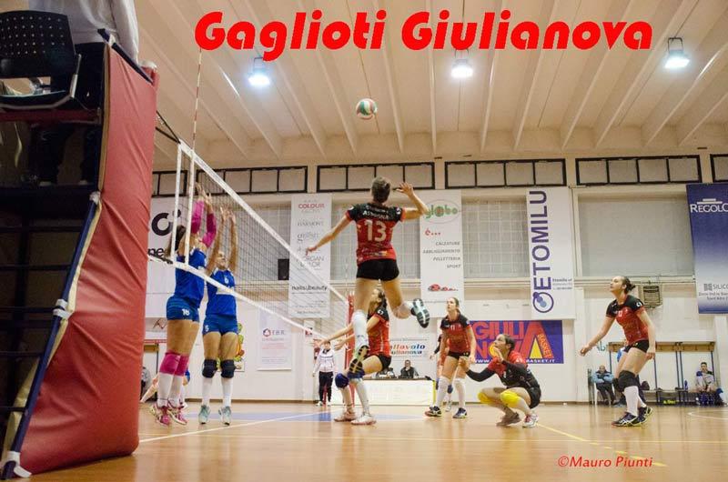 Gaglioti Giulianova: meritata vittoria a Sambuceto. Le foto di Mauro Piunti