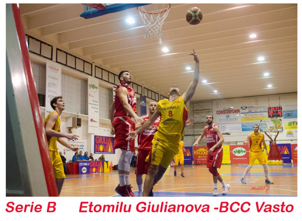 Pronto riscatto del Giulianova Basket 1985 nel girone D della serie B di Basket. Le foto della partita