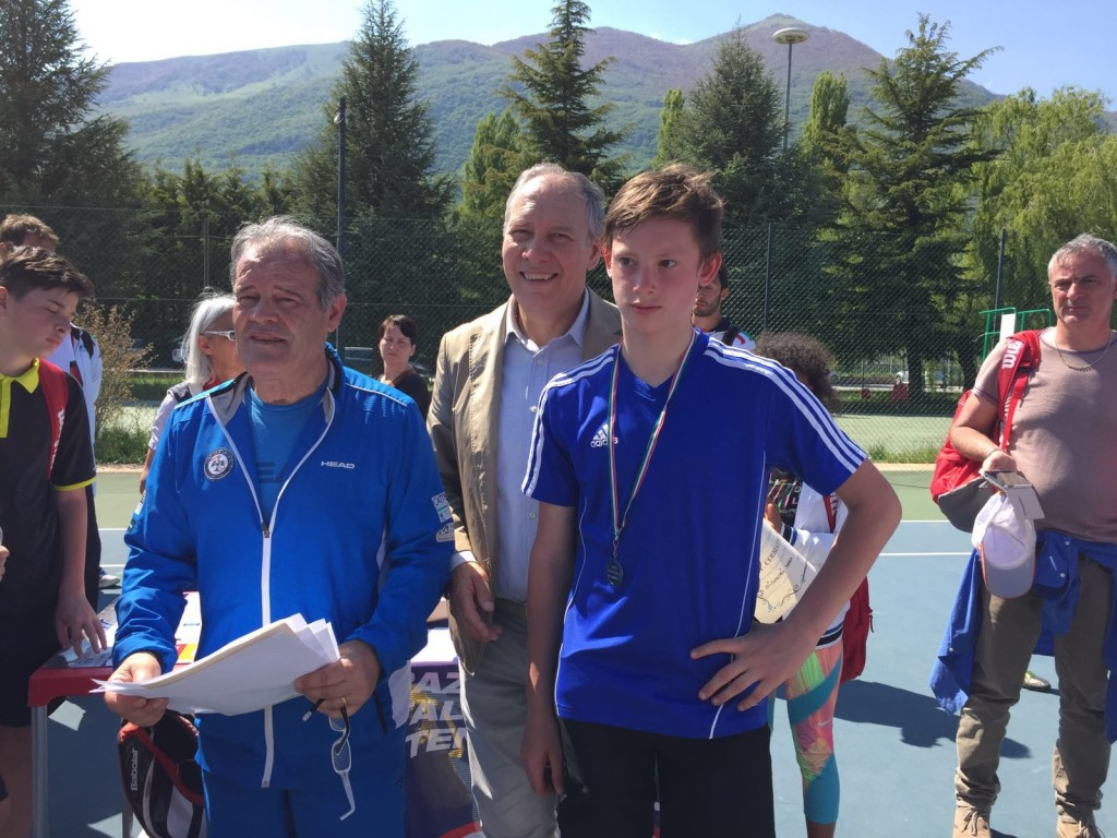 MASTER FINALE REGIONALE FIT JUNIOR PROGRAM TENNIS: vince Alessandro Del Sordo.