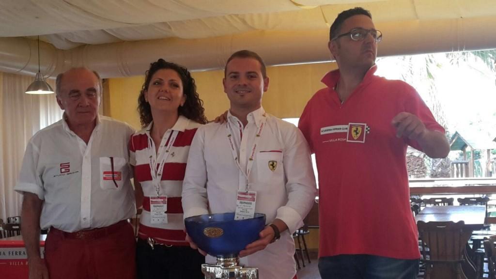 1 classificato Simone Torquati e Roberta Marroni