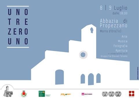 Morro D'Oro (TE). UNOTREZEROUNO: nell'abbazia di Propezzano si rivive l'atmosfera benedettina.