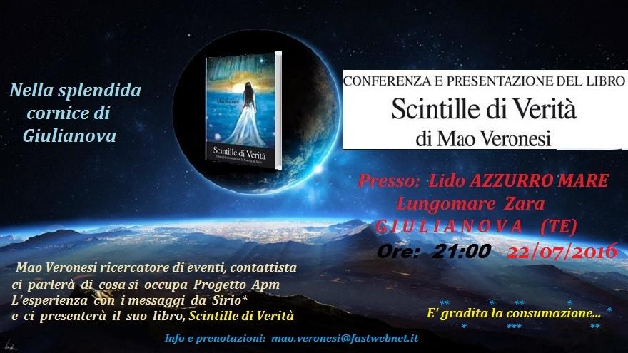 Conferenza a Giulianova ABRUZZO
