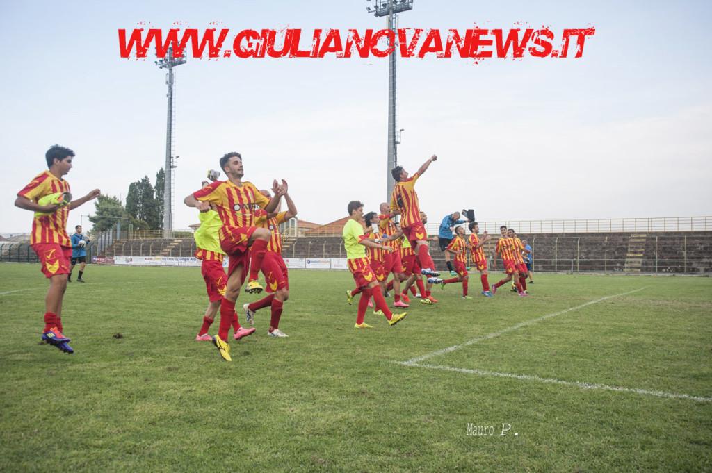 Foto Mauro Piunti Giulianova Calcio contro San Giorgio