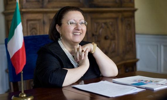 MARIA ASSUNTA ACCILI RAPPRESENTANTE PERMANENTE DELL'ITALIA PRESSO L'ONU – La diplomatica aquilana Ambasciatore d'Italia presso le Organizzazioni internazionali a Vienna