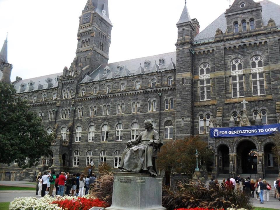 georgetown-university-sede-della-presidenza