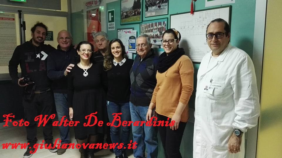 """Giulianova. La """"nostra"""" Debora Sbei diventa donatrice di sangue. Video e foto."""